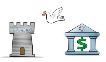 Banken sender varsel til innboksen din - originalinformasjonen forblir i banken
