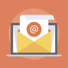 Illustrasjon av e-post